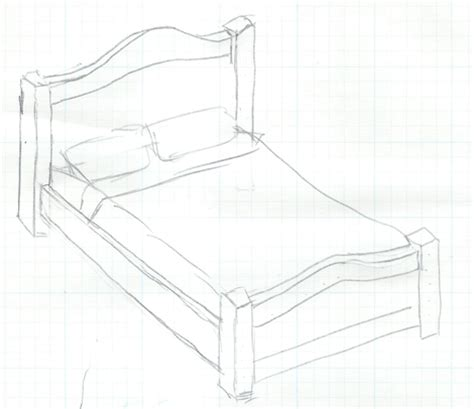 bed sketch the bed project begins justbuildstuff com