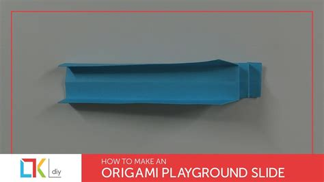 origami toys 47 how to make an origami playground slide