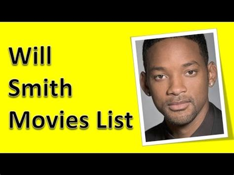 film comedy will smith will smith movies list youtube