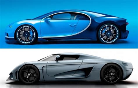 koenigsegg regera vs bugatti chiron the kings of hypercars the bugatti chiron vs the