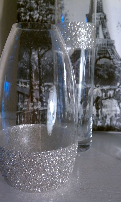 Decorating Vases With Glitter by 1000 Ideas About Glitter Vases On Centerpieces Weddings And Gold Vases