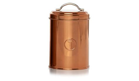 Kitchen Canisters Asda George Home Copper Canister Set Canisters And Bread Bins