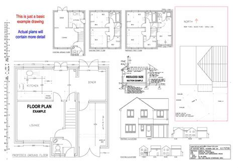 house plans drawings swindon planning permission building regulations low