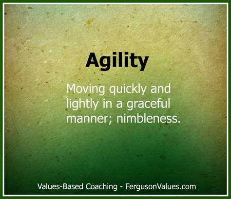 how to your to do agility the value of agility in marketing ferguson values