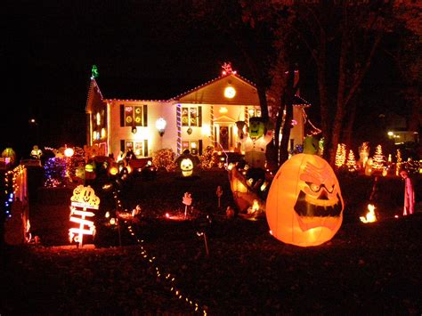 decorated homes for halloween outdoor halloween decorations kids are from pluto a mother s guide to a child s world