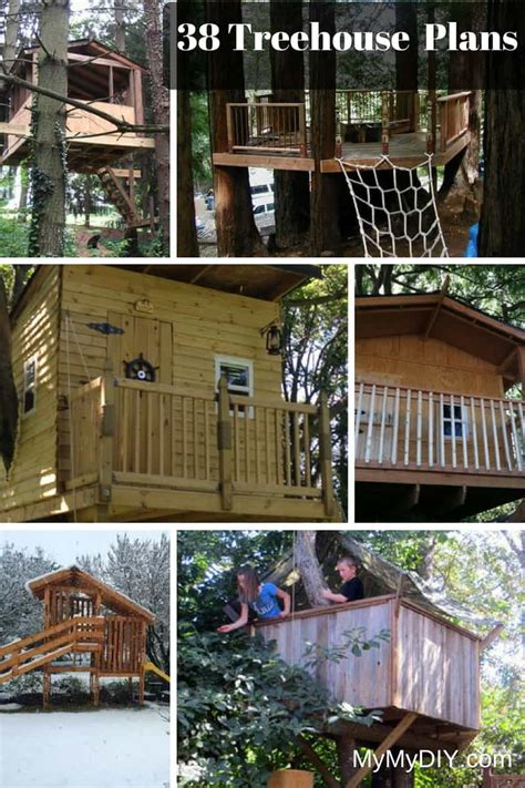 diy house plans 38 brilliant tree house plans mymydiy inspiring diy projects luxamcc