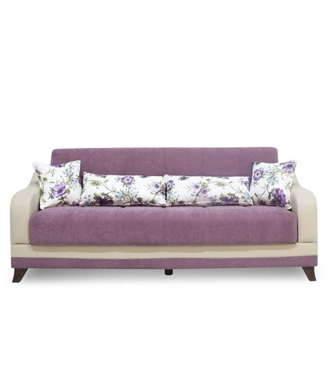 sofa cum bed reviews elif sofa cum bed with storage in purple buy elif sofa