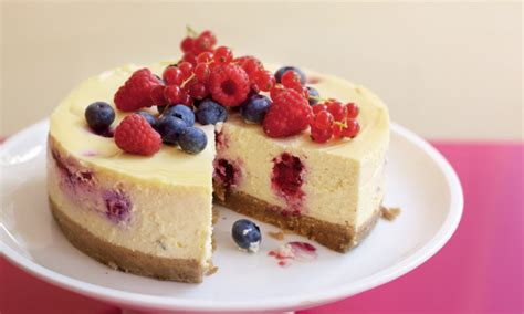 Fruit Cheese Cake recipe summer fruit cheesecake daily mail
