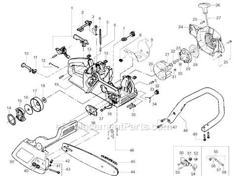 poulan chainsaw fuel line routing diagram poulan 2075 parts list and diagram le