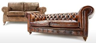 shabby brown leather sofa shabby chic leather sofa large leather chesterfield sofa