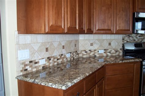 nice kitchen design ideas nice kitchen tile with diamond pattern designs freshouz com