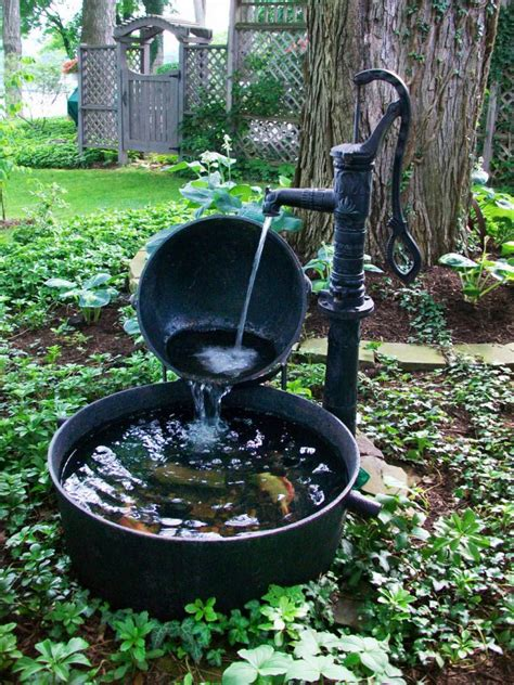 Water Fountains For Small Backyards by Water Fountains Landscaping Backyard Design Ideas