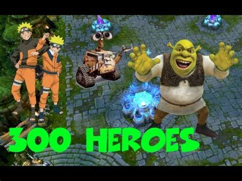 moba anime china 300 heroes league of legends clone