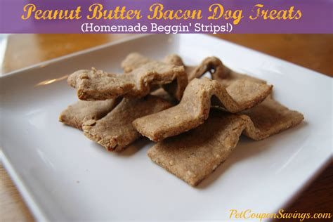 peanut butter treats peanut butter bacon treats
