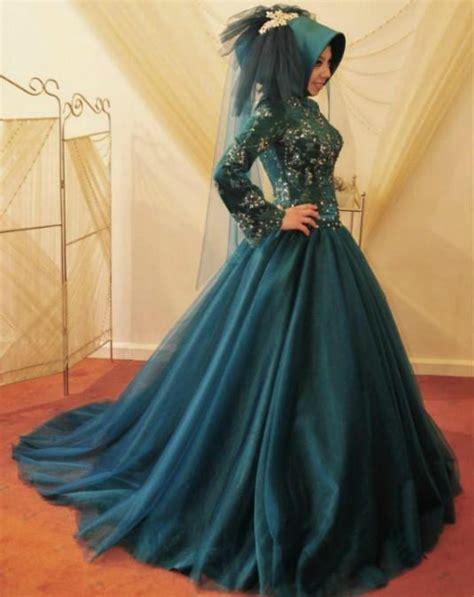 elegant muslim wedding dress   hijabiworld
