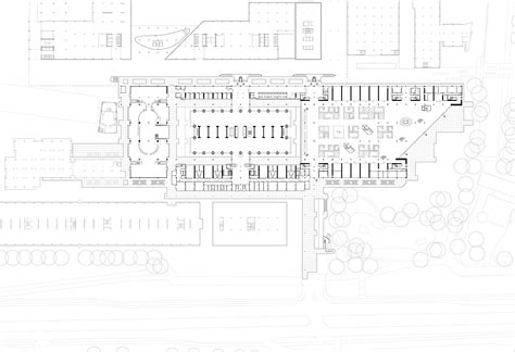 Floor Plan Template by Gallery Of Educational Center Erasmus University Medical