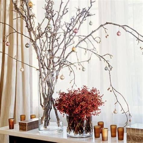 how to decorate a twig or branch tree at xmas decorating for with branches my desired home