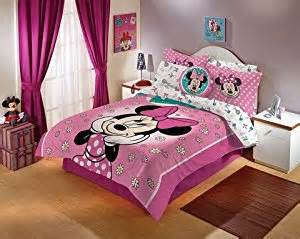amazon com minnie mouse comforter and sheet set full size