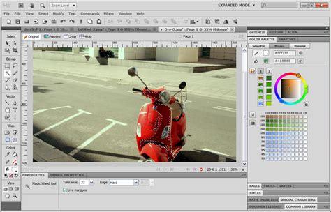 Editor De Imagenes Web Adobe Fireworks | adobe fireworks download