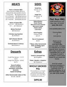 catering menu template 25 best ideas about catering menu on
