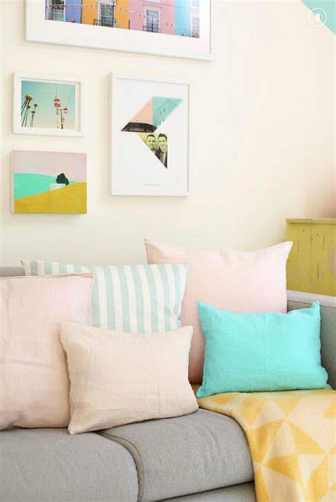 Pastel Bedroom Cushions 10 tips for incorporating pastels into your home