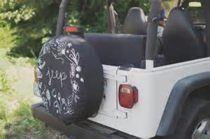 Girly Jeep Tire Covers Patterned Diy Jeep Tire Cover Shelterness