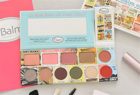 The Balm In Thebalm Of Your the balm in thebalm of your make up palette