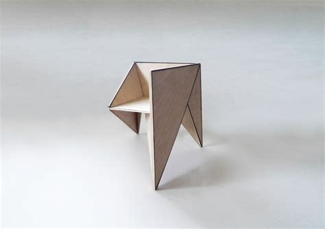 Origami Furniture - origami chair sukunfuku