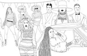 beyonce coloring book illustrator beautifully recreates iconic from