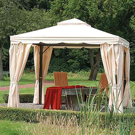 pavillon 3x3 ersatzdach siena garden 587959 replacement roof for dubai gazebo 300