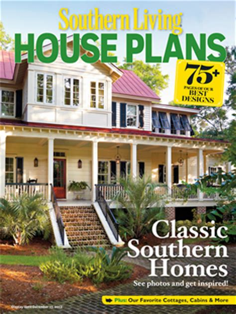 home plan magazines 2012 house plans magazine southern living house plans