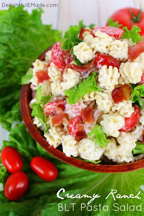 creamy ranch pasta salad family fresh meals meal plan monday coconut rum shrimp chicken burrito bowls