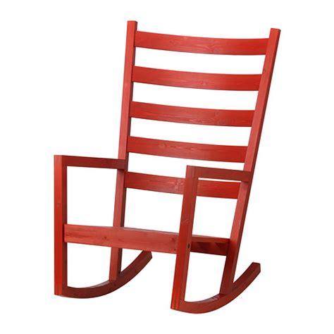 ikea sedie a dondolo v 196 rmd 214 sedia a dondolo da interno esterno rosso ikea