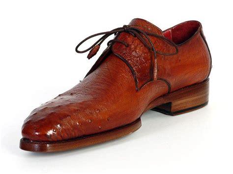 paul parkman shoes paul parkman s tobacco color genuine ostrich leather