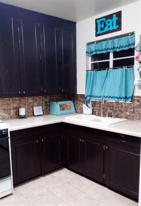 dark chocolate kitchen cabinets general finishes design