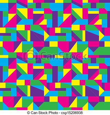 pattern artwork vectors of abstract art pattern seamless colorful shapes