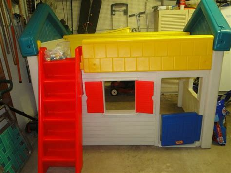 tikes bed tikes loft play house bed
