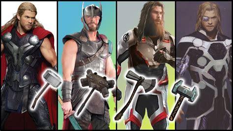 evolution thor avengers endgame spoilers