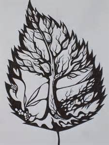 amazing leaf tree tattoo idea to symbolize learning to live successfully through life changes