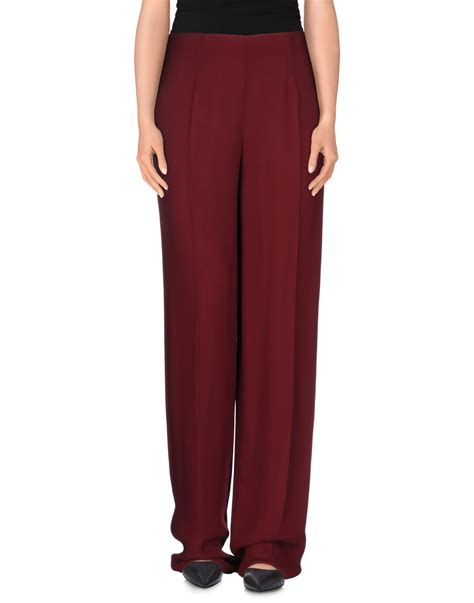 Trousers List lyst list casual trouser in purple