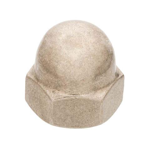 10 24 Cap Nut - everbilt 10 24 coarse stainless steel cap nut 800261