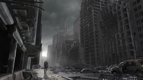 destroyed city background  wallpapersafari