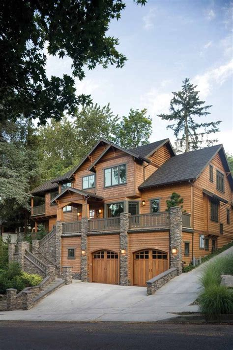 stone and wood house plans architecture oregon log cabins log homes wood stone house