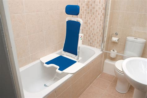 Neptune Recliner Bath Lift Disabled Bath Chair Seat Lift Neptune Reclining Bath Lift Medame Affordable Equipment