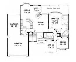 1900 sq ft ranch house plans hpg 1900b 1 900 square feet 3 bedroom 2 5 bath country