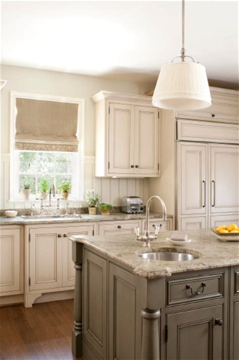 antique grey kitchen cabinets roman white granite design ideas