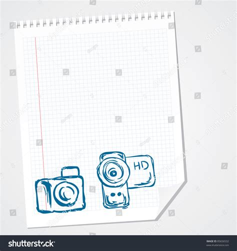High Definition Vector Doodle Stock Vector 85656532
