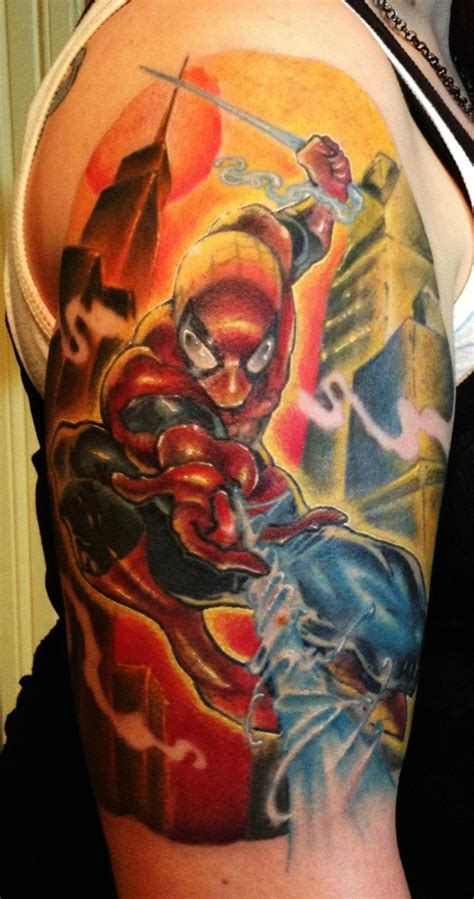 spiderman tattoo designs tattoos the top 15 designs