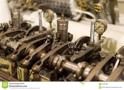 Molen Stahl Eisen Diesel Engine alter dieselmotor stockfoto bild 64509081