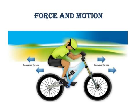 On Science Forces And Motion quot and motion quot is a power point for the 9th grade